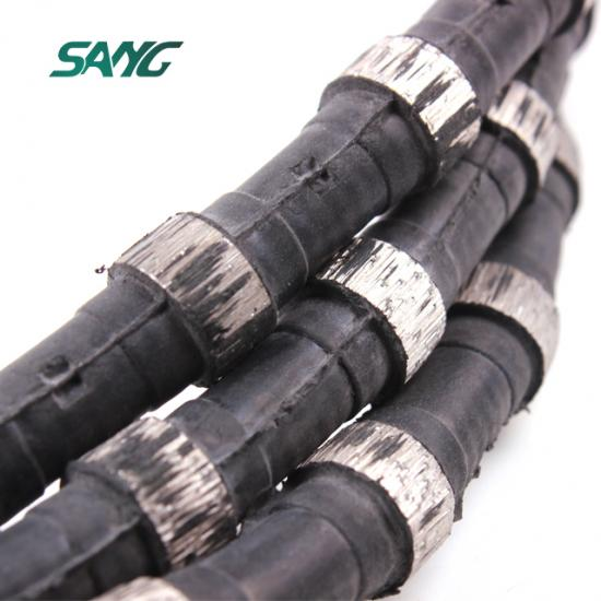 granite bridge wire saw; wire saw granite block cutting; diamond wire saw granite quarry